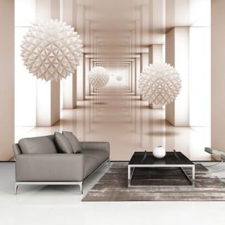 Αυτοκόλλητη φωτοταπετσαρία - Corridor to the Future