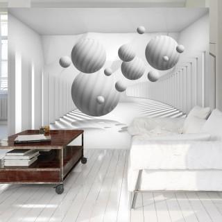 Φωτοταπετσαρία - Balls in White