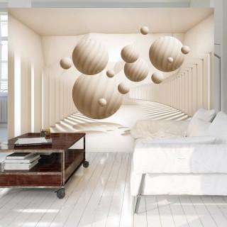 Φωτοταπετσαρία - Beige Balls