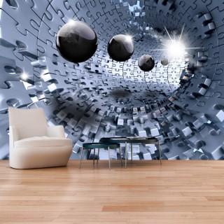 Αυτοκόλλητη φωτοταπετσαρία - Abstract Jigsaw