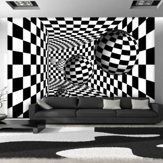 Φωτοταπετσαρία - Black & White Corridor