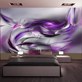 Ταπετσαρία XXL - Purple Swirls II