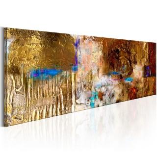 Χειροποίητα ζωγραφισμένος πίνακας - Golden Structure