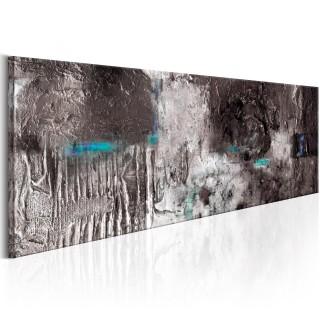 Χειροποίητα ζωγραφισμένος πίνακας - Silver Machine