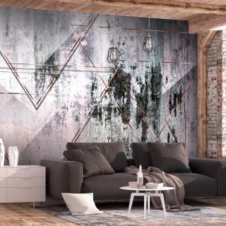 Φωτοταπετσαρία - Geometric Wall