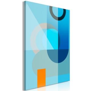 Πίνακας - Blue Surface (1 Part) Vertical