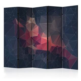 διαχωριστικό με 5 τμήματα - Abstract Bird II [Room Dividers]