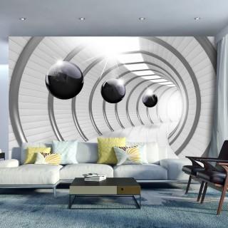 Φωτοταπετσαρία - Futuristic Tunnel