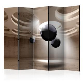 διαχωριστικό με 5 τμήματα -  Geometric Glare II [Room Dividers]