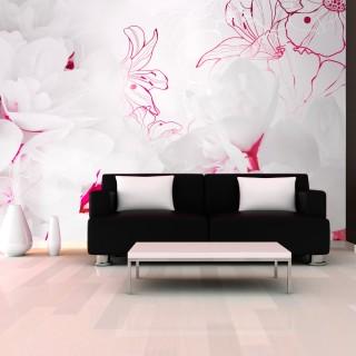 Φωτοταπετσαρία - Enveloped in white