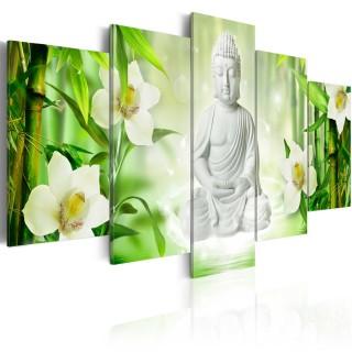 Πίνακας - Buddha and jasmine