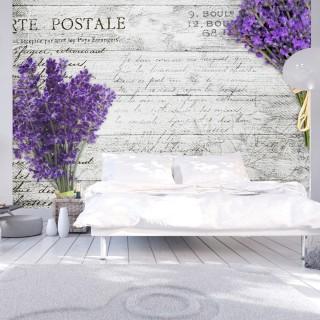 Φωτοταπετσαρία - Lavender postcard