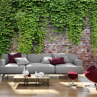 Φωτοταπετσαρία - Brick and ivy