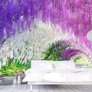Φωτοταπετσαρία - Enchanted garden