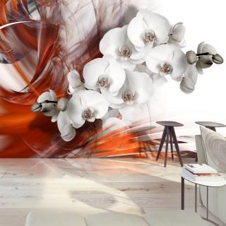 Φωτοταπετσαρία - Orchid on fire II