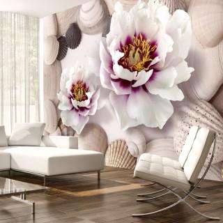 Φωτοταπετσαρία - Flowers and Shells