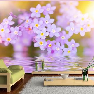 Φωτοταπετσαρία -  Violet Petals In Bloom