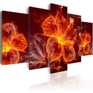Πίνακας - Fiery Flowers