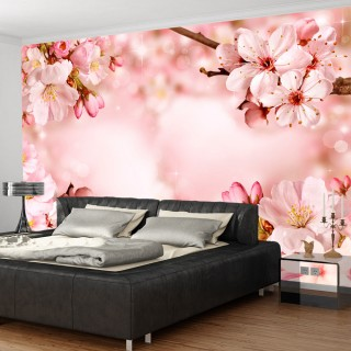 Αυτοκόλλητη φωτοταπετσαρία - Magical Cherry Blossom
