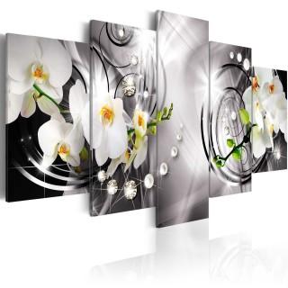Πίνακας -  Orchid, pearls and diamonds