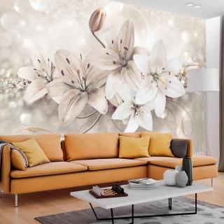 Φωτοταπετσαρία - Diamond Lilies