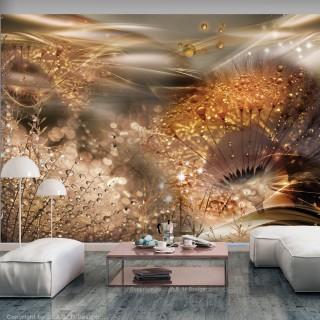 Φωτοταπετσαρία - Dandelions' World (Gold)