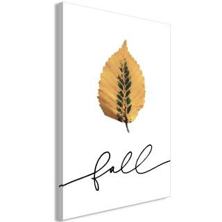 Πίνακας - Unusual Leaf (1 Part) Vertical