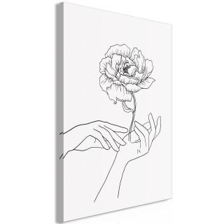 Πίνακας - Delicate Touch (1 Part) Vertical