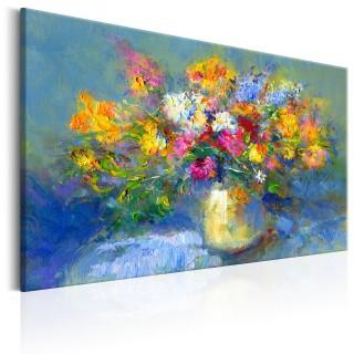 Χειροποίητα ζωγραφισμένος πίνακας -  Autumn Bouquet