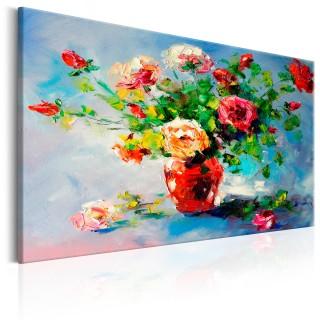 Χειροποίητα ζωγραφισμένος πίνακας - Beautiful Roses
