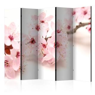 διαχωριστικό με 5 τμήματα -  Cherry Blossom II [Room Dividers]