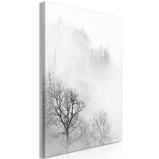 Πίνακας - Trees In The Fog (1 Part) Vertical