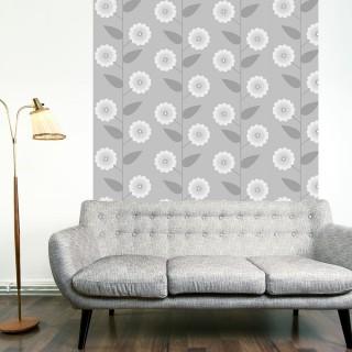Φωτοταπετσαρία -  Floral Pattern
