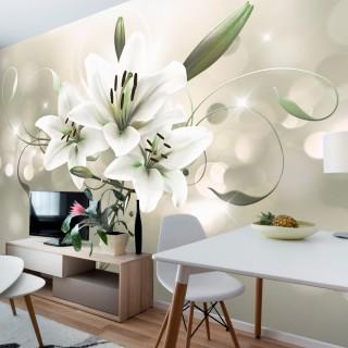 Φωτοταπετσαρία - Lily - Flower of Masters
