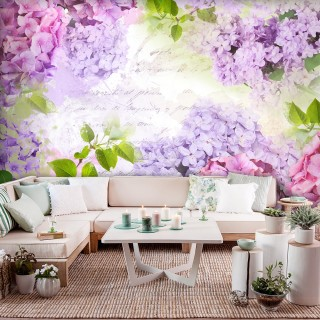 Αυτοκόλλητη φωτοταπετσαρία - May's lilacs