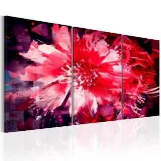 Πίνακας - Crimson Flowers