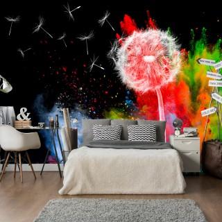 Φωτοταπετσαρία - Colourful Element