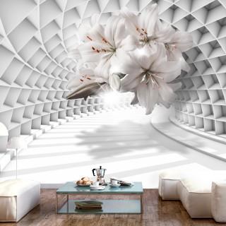 Φωτοταπετσαρία - Flowers in the Tunnel