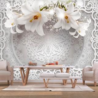Φωτοταπετσαρία - Lilies and Ornaments