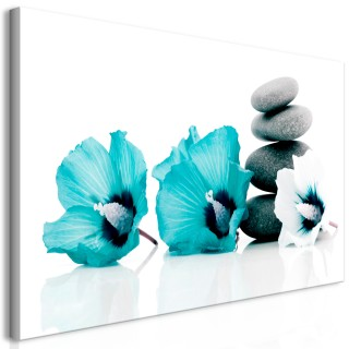 Πίνακας - Calm Mallow (1 Part) Turquoise