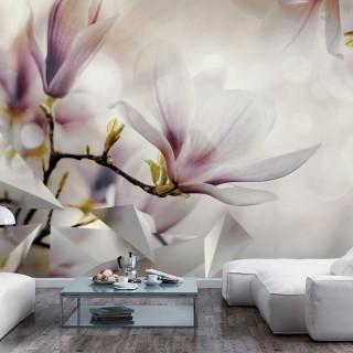 Φωτοταπετσαρία - Subtle Magnolias - First Variant
