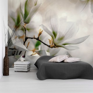 Φωτοταπετσαρία - Subtle Magnolias - Second Variant
