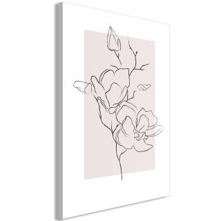 Πίνακας - Creamy Magnolia (1 Part) Vertical