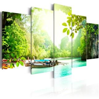 Πίνακας - Under the cover of trees