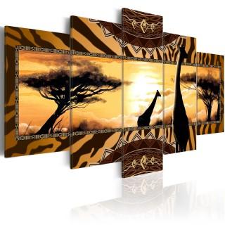 Πίνακας - African giraffes