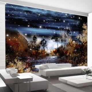 Φωτοταπετσαρία - Magical forest