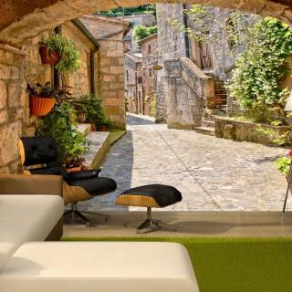 Φωτοταπετσαρία - Provincial alley in Tuscany