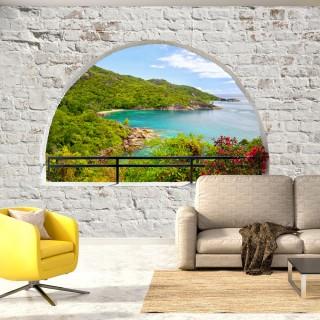 Αυτοκόλλητη φωτοταπετσαρία -  Emerald Island