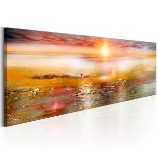 Πίνακας - Orange Sea