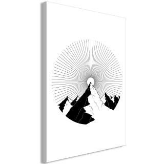 Πίνακας - Mountain at the Zenith (1 Part) Vertical